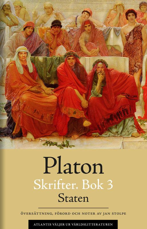 Bokomslag för Skrifter. Bok 3, Staten