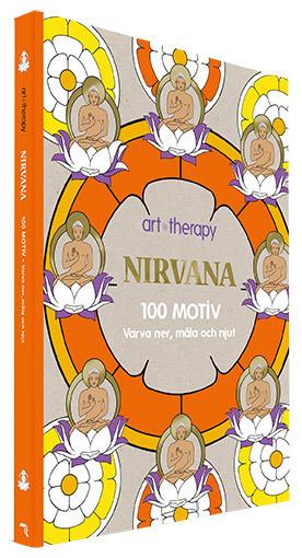 Bokomslag för Nirvana : 100 motiv - varva ner, måla och njut